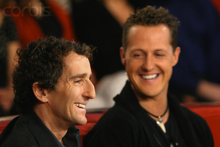 Alain Prost y Michael Schumacher