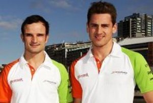 Liuzzi y Sutil son los pilotos confirmados por Force India