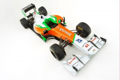 El Force India VJM04 se descubrió por la web